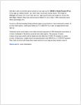 DWSD Water Restart Plan - cover
